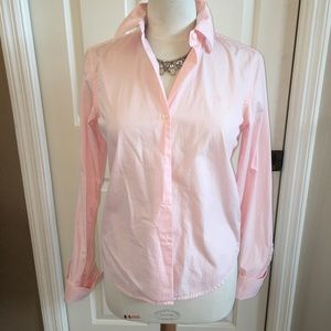 Pink Ralph Lauren French cuff shirt, S